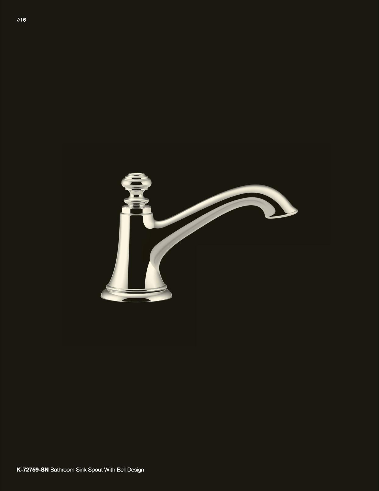 Vibrant Polished Nickel - Artifacts Bathroom Faucet Collection Page 16
